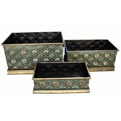 Geko Products 3 Piece Storage Box Set