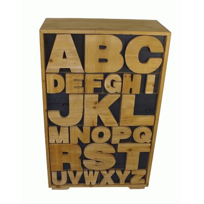 Geko Products Alphabet 26 Drawer Chest