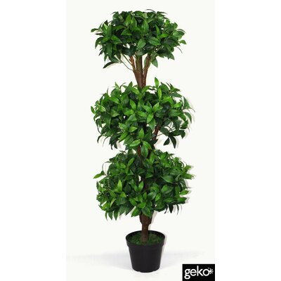 Geko Products Artificial Bay Topiary Tree