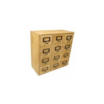 Geko Products 12 Drawer Chest