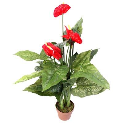 Geko Products Artificial Anthurium Plant