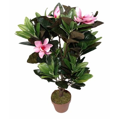 Geko Products Artificial Magnolia Plant
