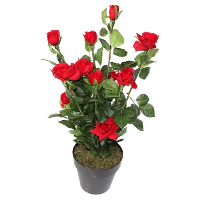Geko Products Artificial Rose Flower Tree