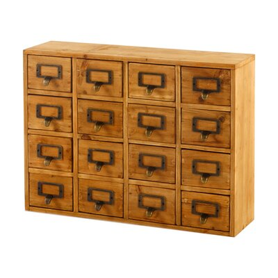 Geko Products 16-Drawer Chest