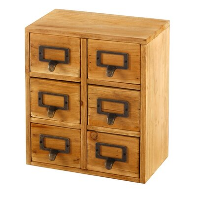 Geko Products 6-Drawer Chest