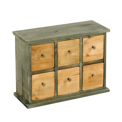 Geko Products 6 Drawer Chest