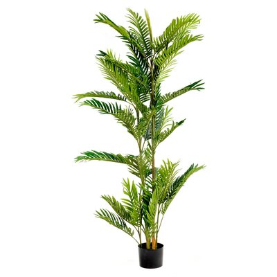 Geko Products Artificial 5 Foot PalmTree in Pot