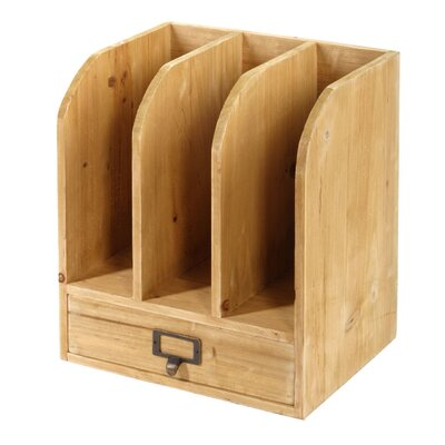 Geko Products Wooden Files with Drawer