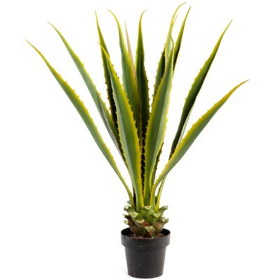 Geko Products Artificial Agave Plant in Pot