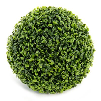 Geko Products Artificial Boxwood Grass Ball Round Topiary