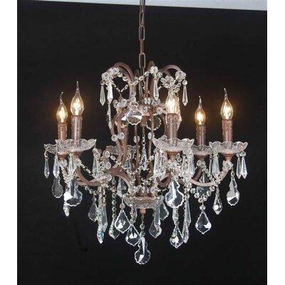 Besp-Oak Furniture 5 Light Candle Chandelier