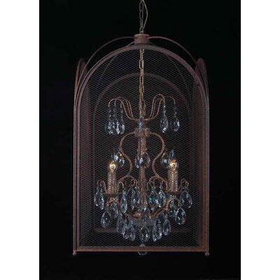 Besp-Oak Furniture Cage 2 Light Foyer Chandelier