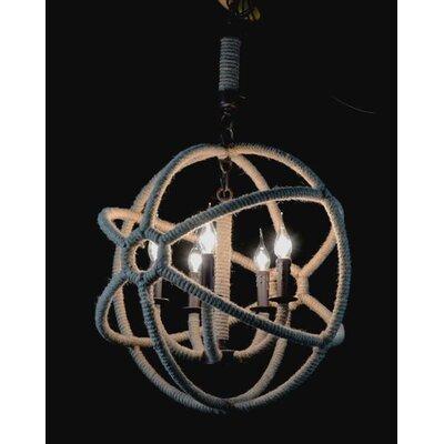 Besp-Oak Furniture Atom 5 Light Foyer Chandelier