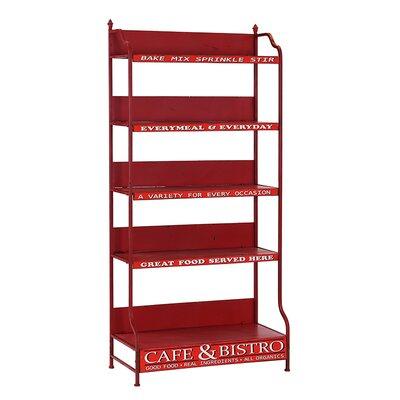 Besp-Oak Furniture Racked Cafe and Bistro Shelf