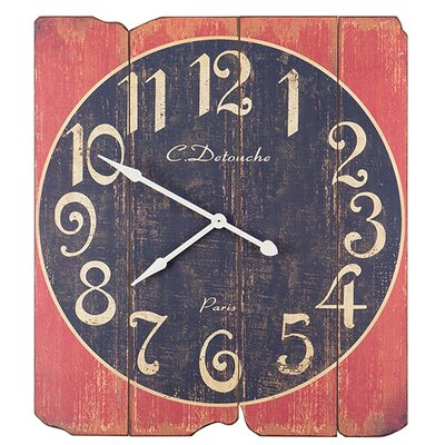Besp-Oak Furniture Decking Clock
