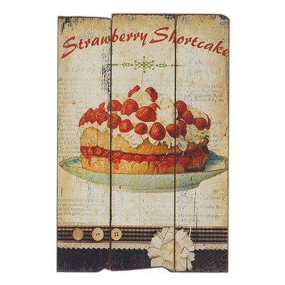 Besp-Oak Furniture Strawberry Shortcake Graphic Art Plaque