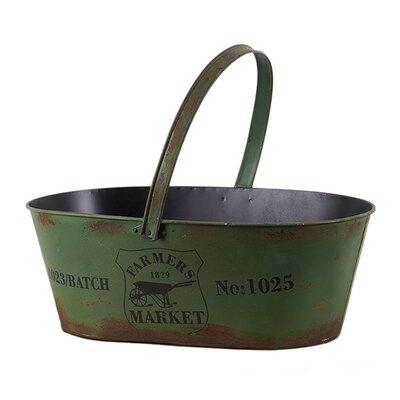 Besp-Oak Furniture Vintage Iron Basket