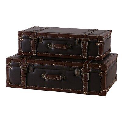 Besp-Oak Furniture 2 Piece Suitcase Set