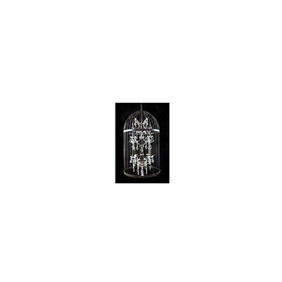 Besp-Oak Furniture Cage 4 Light Foyer Chandelier