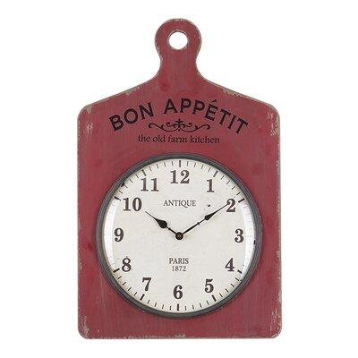 Besp-Oak Furniture Bon Appetite Chopping Board Clock