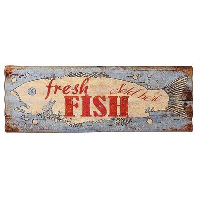 Besp-Oak Furniture Iron Cladding Fresh Fish Wall Décor