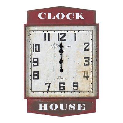Besp-Oak Furniture Iron Clock House Clock