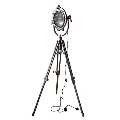 Besp-Oak Furniture Chunky 1 Light 198cm Tripod Floor Lamp