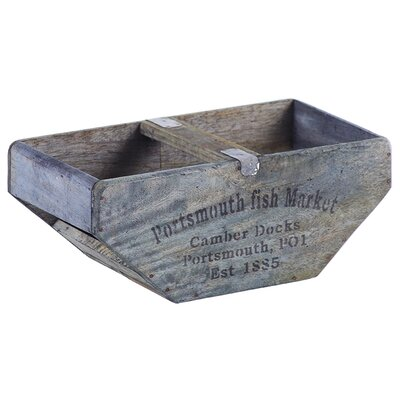 Besp-Oak Furniture Shaped Fish Box