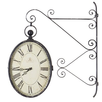 Besp-Oak Furniture La Gare Hanging Clock