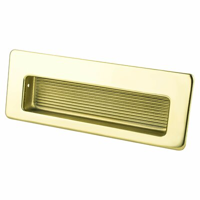 Zurich Recessed Pull Color: Gold Plated