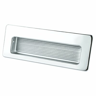 Zurich Recessed Pull Color: Polished Chrome
