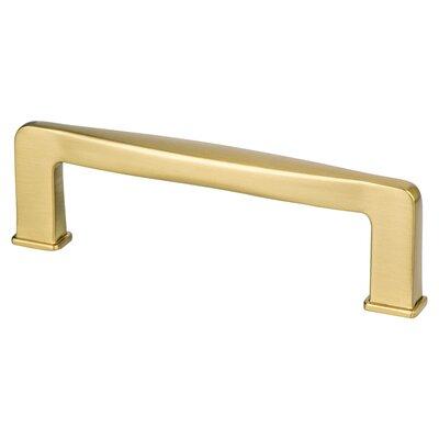 """3 3/4"""" Bar Pull Color: Modern Brushed Gold"""