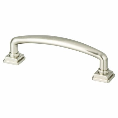 """3 3/4"""" Arch Pull Color: Brushed Nickel"""