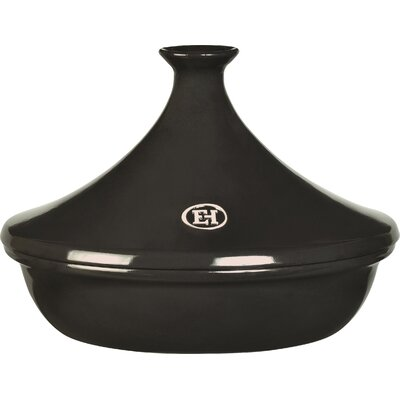 Emile Henry Flame Ceramic Round Tagine