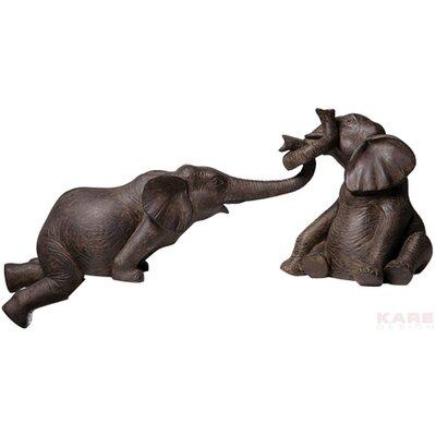 KARE Design Elephant Circus 2-Piece Figurine Set