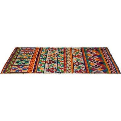 KARE Design Home Sweet Home Handcrafted Multicoloured Area Rug