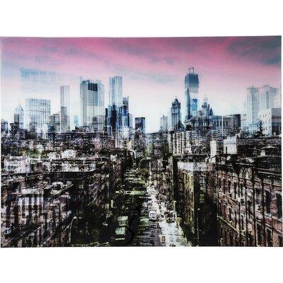 KARE Design NY Skyline Photographic Print on Glass