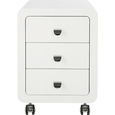 KARE Design Club 3 Drawer Mobile Container