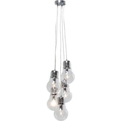 KARE Design Five Bulbs Clear 5 Light Cluster Pendant Light