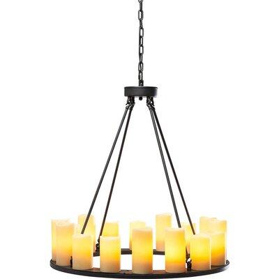 KARE Design Candle Light 16 Light Chandelier