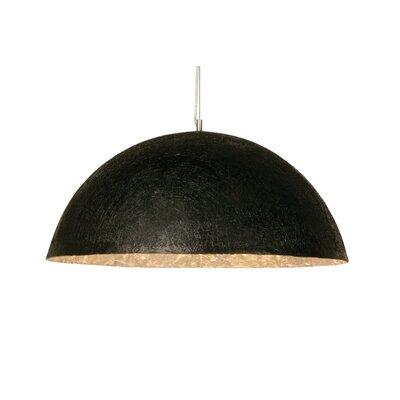 KARE Design Shiny Wok Black Big 3 Light Bowl Pendant Lamp