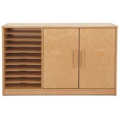 Art Paper 2 Door Accent Cabinet