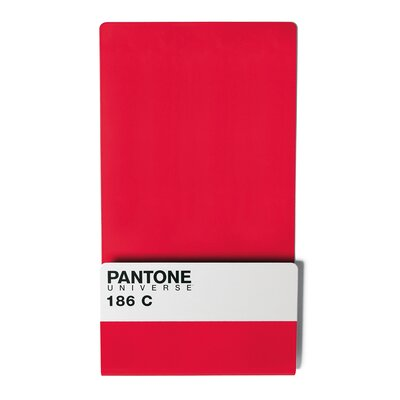 Pantone 186 Wallstore with 6 Mini Magnets