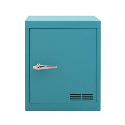 Stack 1 Door Storage Cabinet Color: Water Green