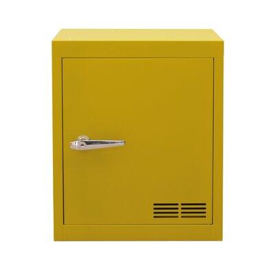 Stack 1 Door Storage Cabinet Color: Vintage Yellow