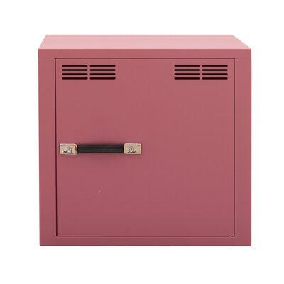 Stack 1 Door Storage Cabinet Color: Antique Light Pink