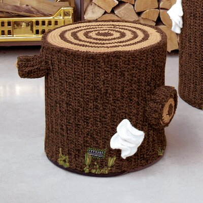 """Bosque 15"""" Crocheted Cotton Seating"""