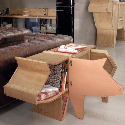Sending Animals Pig Accent Cabinet