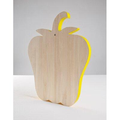 "Alessandra Baldereschi ""Vege-Table"" Birch Wood Cutting Board"