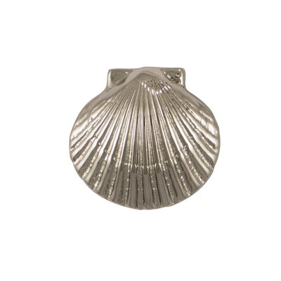 Bay Scallop Doorbell Ringer Finish: Nickel Silver